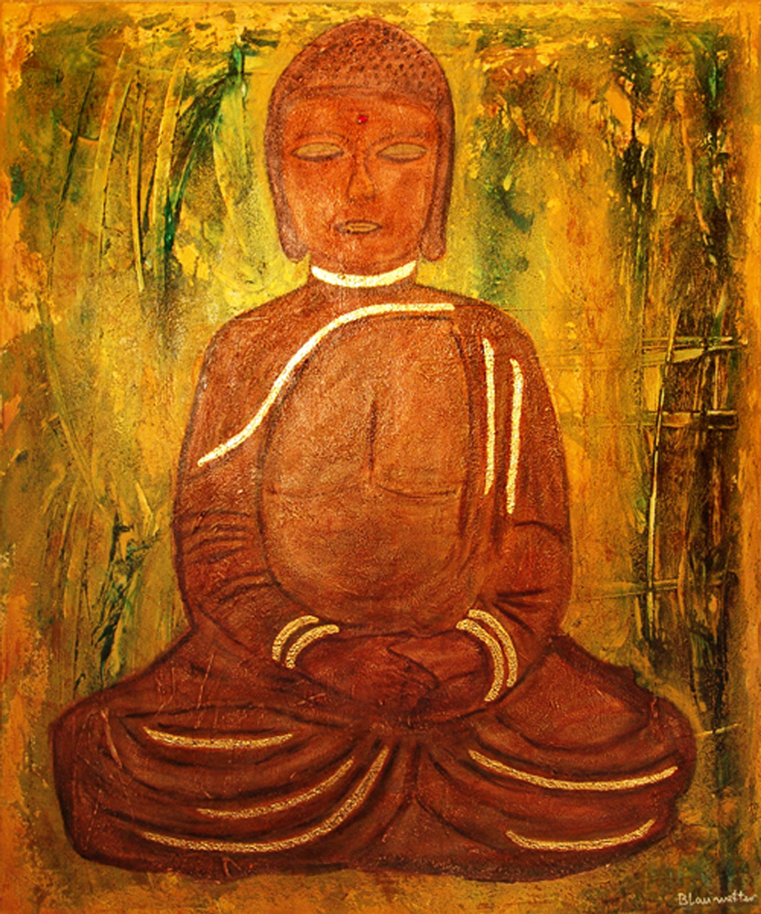 The brown Buddha